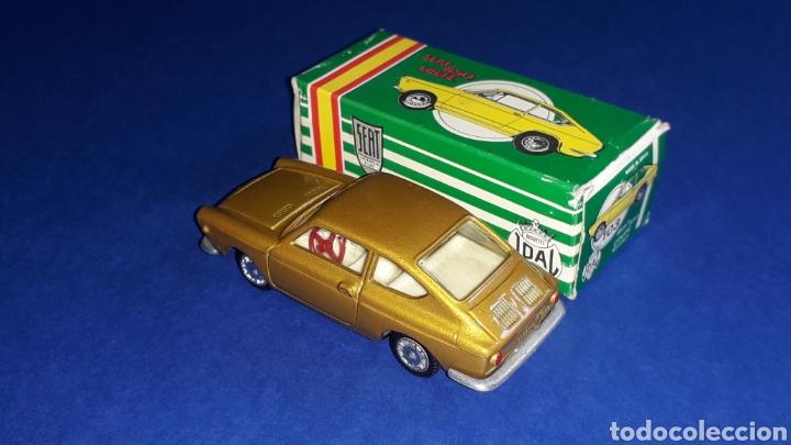 Coches a escala: Seat 850 Coupé ref. 103, metal esc. 1/43, miniaturas Joal made in Spain, original años 60. Con caja. - Foto 3 - 178828723