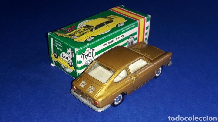 Coches a escala: Seat 850 Coupé ref. 103, metal esc. 1/43, miniaturas Joal made in Spain, original años 60. Con caja. - Foto 4 - 178828723