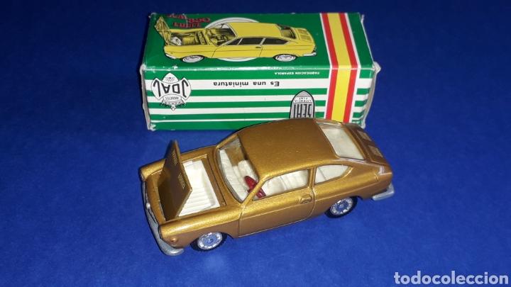 Coches a escala: Seat 850 Coupé ref. 103, metal esc. 1/43, miniaturas Joal made in Spain, original años 60. Con caja. - Foto 5 - 178828723