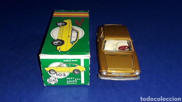 Coches a escala: Seat 850 Coupé ref. 103, metal esc. 1/43, miniaturas Joal made in Spain, original años 60. Con caja. - Foto 6 - 178828723