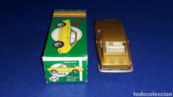 Coches a escala: Seat 850 Coupé ref. 103, metal esc. 1/43, miniaturas Joal made in Spain, original años 60. Con caja. - Foto 7 - 178828723