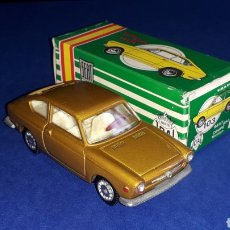Coches a escala: SEAT 850 COUPÉ REF. 103, METAL ESC. 1/43, MINIATURAS JOAL MADE IN SPAIN, ORIGINAL AÑOS 60. CON CAJA.. Lote 178828723
