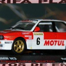 Coches a escala: BMW M3 RALLYE CRITERIUM ALPIN 1989 FRANCOIS CHATRIOT - MICHEL PERIN ESCALA 1:43 DE ALTAYA EN SU CAJ. Lote 178990977
