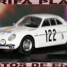 Coches a escala: ALPINE A 108 RALLYE TOUR DE FRANCE 1960 ESCALA 1:43 DE ELIGOR EN CAJA NO ORIGINAL. Lote 178991476