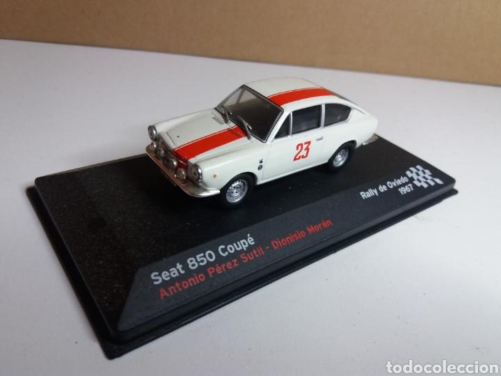 SEAT 850 COUPE RALLY OVIEDO 1967 PEREZ 1/43 (Juguetes - Coches a Escala 1:43 Otras Marcas)
