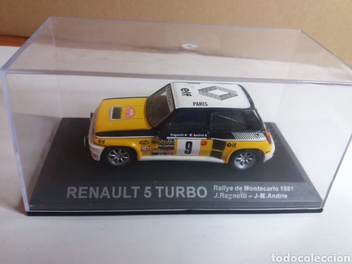 RENAULT 5 TURBO RALLY MONTECARLO 1981 RAGNOTTI 1/43 (Juguetes - Coches a Escala 1:43 Otras Marcas)