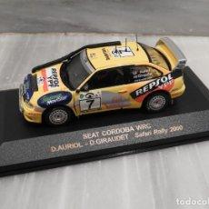 Coches a escala: SEAT CORDOBA WRC SAFARI RALLY 2000 - RALLY CAR - ALTAYA IXO - 1/43. Lote 179080382