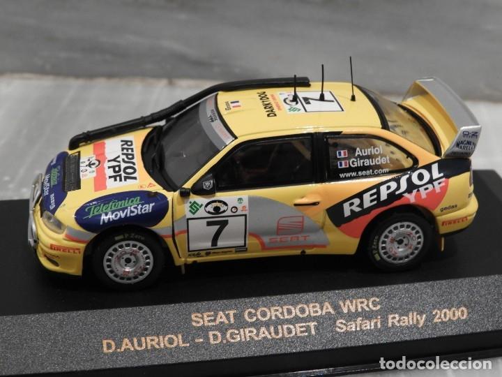 Coches a escala: SEAT CORDOBA WRC SAFARI RALLY 2000 - RALLY CAR - ALTAYA IXO - 1/43 - Foto 2 - 179080382