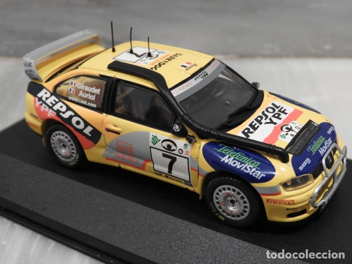 Coches a escala: SEAT CORDOBA WRC SAFARI RALLY 2000 - RALLY CAR - ALTAYA IXO - 1/43 - Foto 3 - 179080382