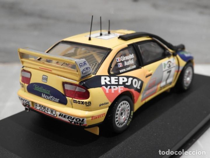 Coches a escala: SEAT CORDOBA WRC SAFARI RALLY 2000 - RALLY CAR - ALTAYA IXO - 1/43 - Foto 4 - 179080382