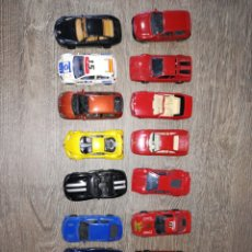 Coches a escala: 15 COCHES A ESCALA 1:43 BURAGO. Lote 179405402
