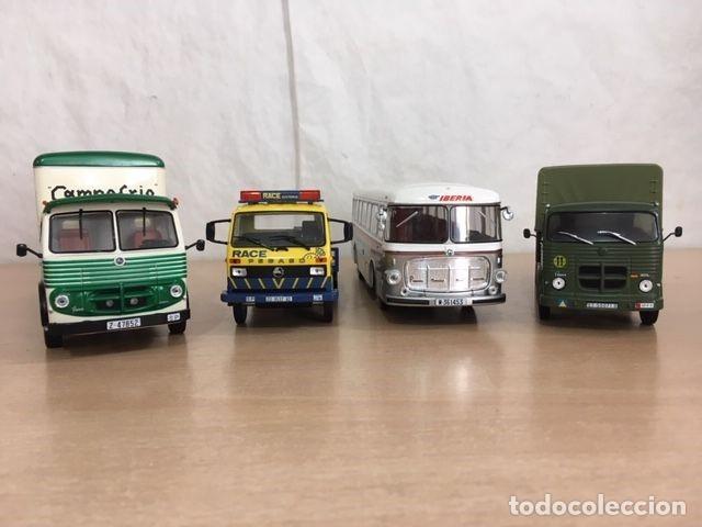 Coches a escala: LOTE 7 CAMIONES PEGASO MOFLETES CABEZON RACE 1/43 1:43 MODEL TRUCK CAMION OFERTON !!!!!! - Foto 3 - 238235790