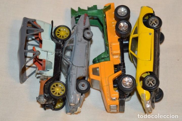 Coches a escala: Lote 4 coches variados de -- EXTRANJEROS -- ANTIGUOS - Varios países - Originales y antiguos - Foto 2 - 183082493