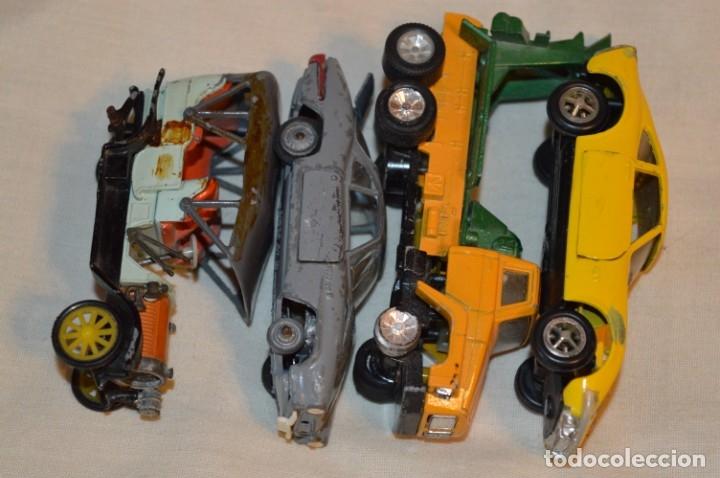 Coches a escala: Lote 4 coches variados de -- EXTRANJEROS -- ANTIGUOS - Varios países - Originales y antiguos - Foto 3 - 183082493