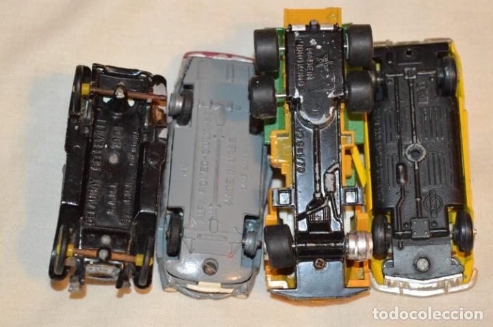 Coches a escala: Lote 4 coches variados de -- EXTRANJEROS -- ANTIGUOS - Varios países - Originales y antiguos - Foto 6 - 183082493