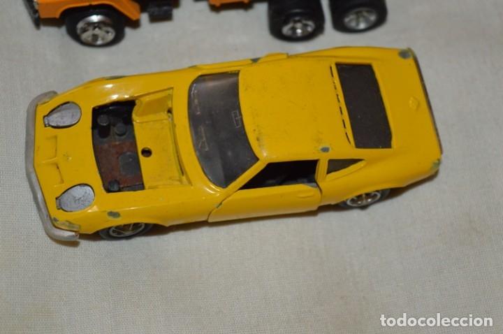 Coches a escala: Lote 4 coches variados de -- EXTRANJEROS -- ANTIGUOS - Varios países - Originales y antiguos - Foto 7 - 183082493