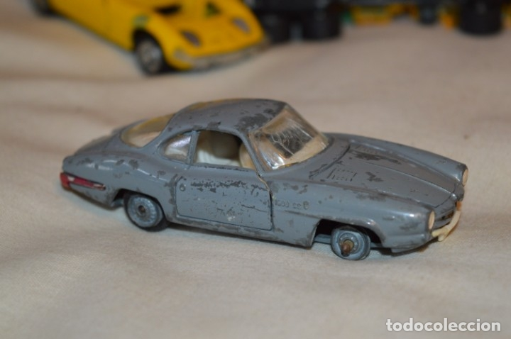 Coches a escala: Lote 4 coches variados de -- EXTRANJEROS -- ANTIGUOS - Varios países - Originales y antiguos - Foto 14 - 183082493