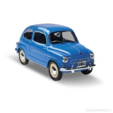 Coches a escala: FIAT 600D 1962 1:43 IXO SALVAT DIECAST COCHE. Lote 183252345