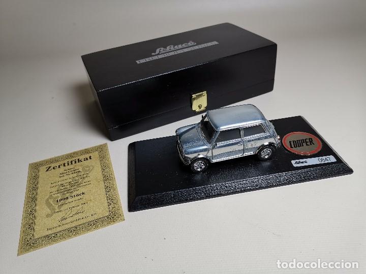 Coches a escala: SCHUCO - MINI - PREMIUM SERIES - COPPER 1970--serie limitada 1000 ud año 2002 - Foto 4 - 183638585