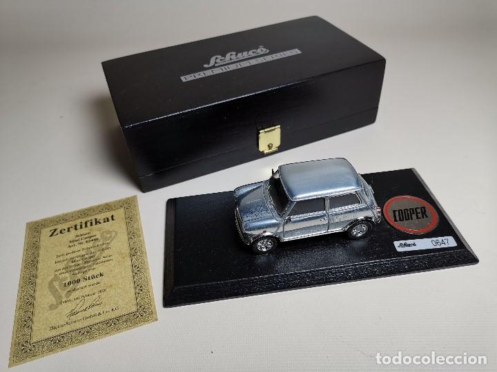 Coches a escala: SCHUCO - MINI - PREMIUM SERIES - COPPER 1970--serie limitada 1000 ud año 2002 - Foto 5 - 183638585