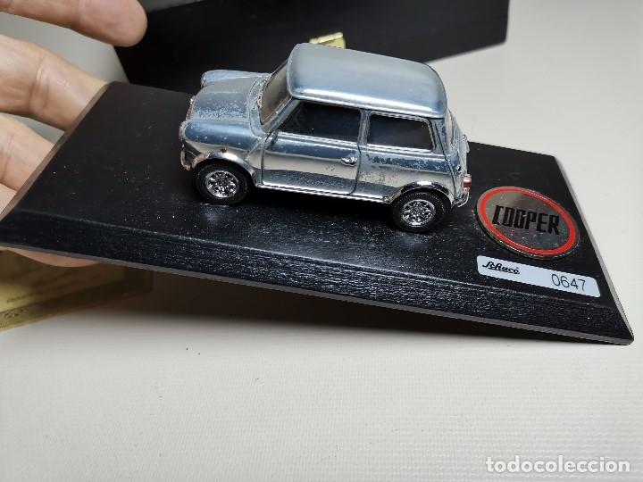 Coches a escala: SCHUCO - MINI - PREMIUM SERIES - COPPER 1970--serie limitada 1000 ud año 2002 - Foto 6 - 183638585