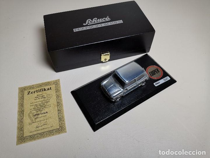 Coches a escala: SCHUCO - MINI - PREMIUM SERIES - COPPER 1970--serie limitada 1000 ud año 2002 - Foto 17 - 183638585