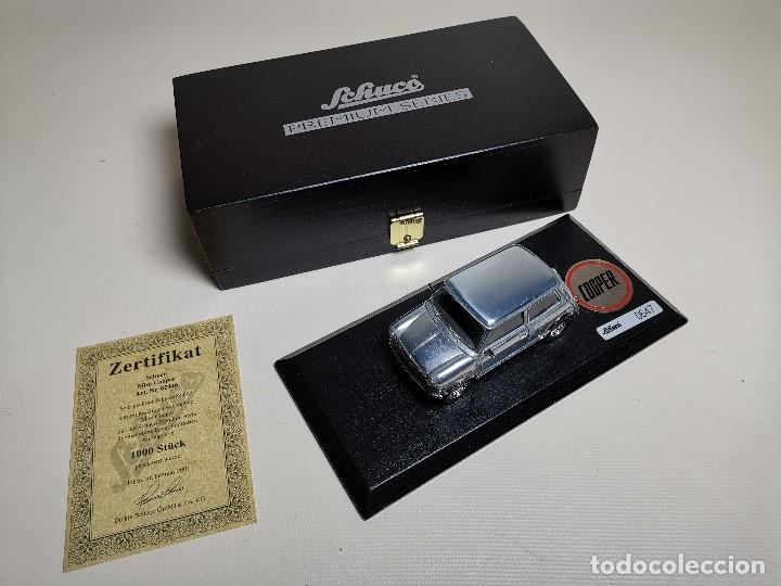 Coches a escala: SCHUCO - MINI - PREMIUM SERIES - COPPER 1970--serie limitada 1000 ud año 2002 - Foto 18 - 183638585