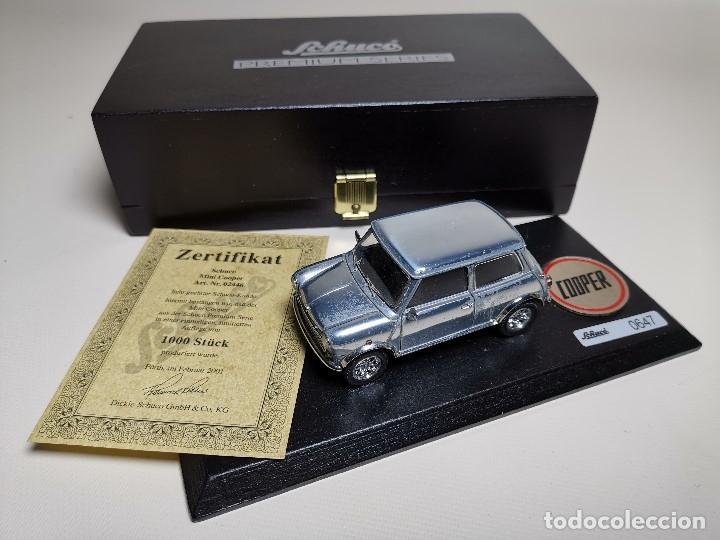 Coches a escala: SCHUCO - MINI - PREMIUM SERIES - COPPER 1970--serie limitada 1000 ud año 2002 - Foto 19 - 183638585