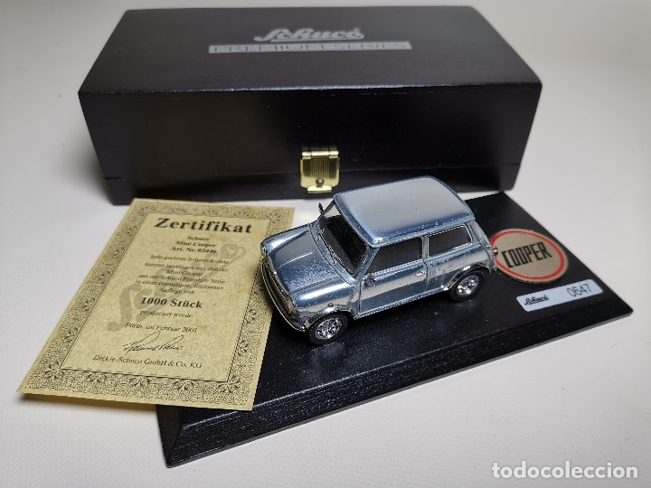 Coches a escala: SCHUCO - MINI - PREMIUM SERIES - COPPER 1970--serie limitada 1000 ud año 2002 - Foto 21 - 183638585