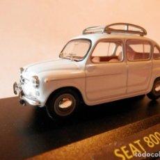 Coches a escala: SEAT 800 1963--1/43--LUGOY--1/43- LUGOY. Lote 183711332
