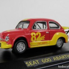 Coches a escala: SEAT 600 ABARTH 1970 --1/43--LUGOY. Lote 183712733
