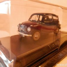 Coches a escala: FIAT SEAT 600 1957--1/43--LUGOY. Lote 183712958