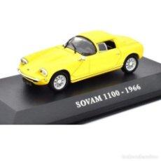 Coches a escala: SOVAM 1100 1966 1:43 COCHES FRANCESES DE ANTAÑO IXO ALTAYA DIECAST. Lote 184321188