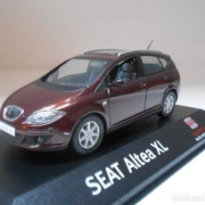 Coches a escala: COCHE SEAT ALTEA XL ROJO NEW DELHI RED 1/43 1:43 IXO MODEL CAR IN BOX MINIATURA. Lote 210518646
