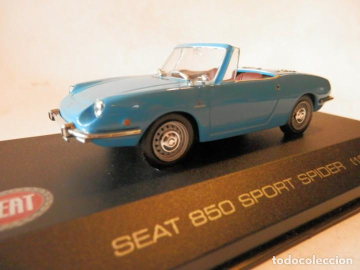 SEAT 850 SPORT SPIDER 1969--ALTAYA--1/43--LUGOY (Juguetes - Coches a Escala 1:43 Otras Marcas)