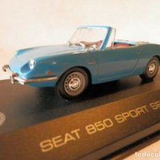 Coches a escala: SEAT 850 SPORT SPIDER 1969--ALTAYA--1/43--LUGOY. Lote 184548886