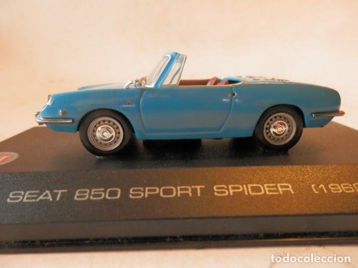 Coches a escala: SEAT 850 SPORT SPIDER 1969--ALTAYA--1/43--LUGOY - Foto 4 - 184548886