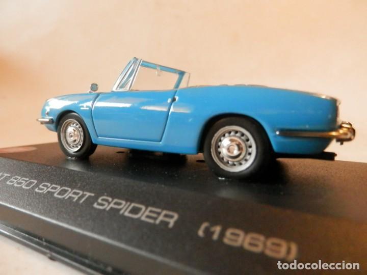 Coches a escala: SEAT 850 SPORT SPIDER 1969--ALTAYA--1/43--LUGOY - Foto 5 - 184548886