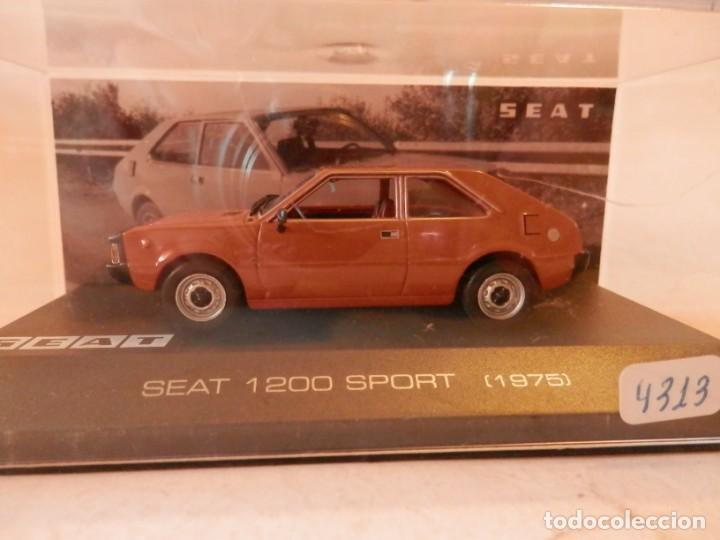 Coches a escala: SEAT 1200 SPORT 1975--ALTAYA--1/43--LUGOY - Foto 3 - 184549095
