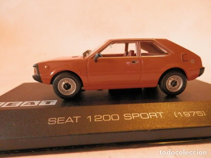 Coches a escala: SEAT 1200 SPORT 1975--ALTAYA--1/43--LUGOY - Foto 4 - 184549095