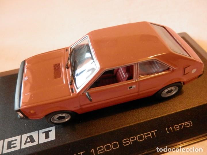 Coches a escala: SEAT 1200 SPORT 1975--ALTAYA--1/43--LUGOY - Foto 10 - 184549095