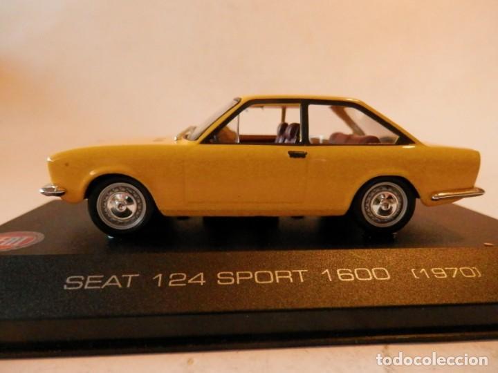 Coches a escala: SEAT 124 SPORT 1600 1970--ALTAYA--1/43--LUGOY - Foto 4 - 184549606