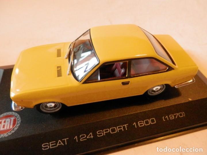 Coches a escala: SEAT 124 SPORT 1600 1970--ALTAYA--1/43--LUGOY - Foto 10 - 184549606