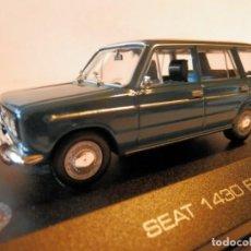 Coches a escala: SEAT 1430 FD FAMILIAR 1969 --ALTAYA--1/43--LUGOY. Lote 184550048