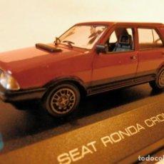Coches a escala: SEAT RONDA CRONO 1982--ALTAYA--1/43--LUGOY. Lote 184551176