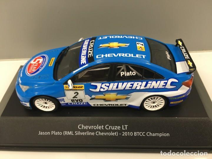 2010-BTCC JASON Platón RML Escala 1//43rd De Chevrolet Cruze Lt