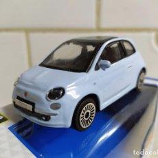 Coches a escala: FIAT 500 , AZUL CLARO , BURAGO. Lote 185750728