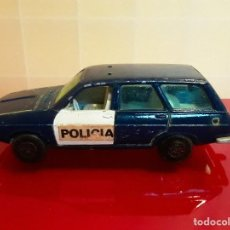Coches a escala: RENAULT 12TS POLICIA GUIISVAL MADE IN SPAIN COCHE A ESCALA 1/43. Lote 185993320