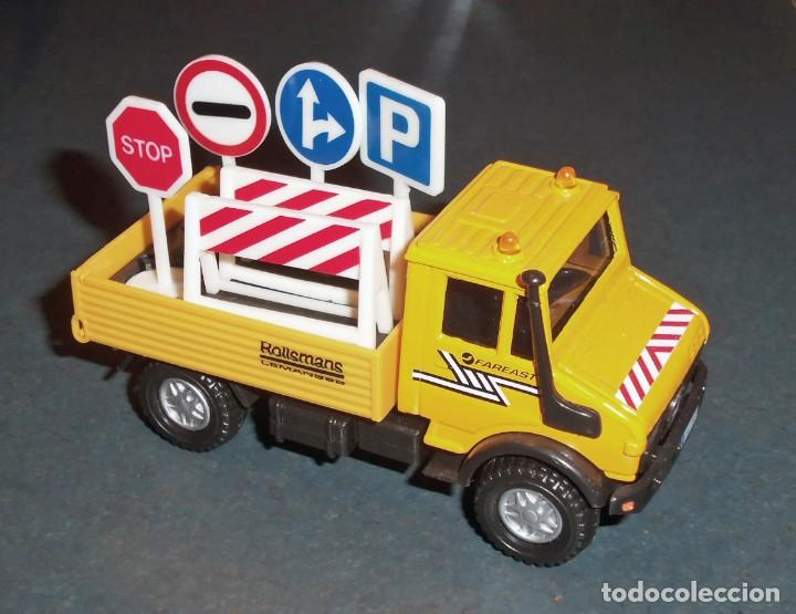 Coches a escala: Lote 5 Camiones MERCEDES Obras Públicas - ¡NUEVOS! - Foto 3 - 186377365