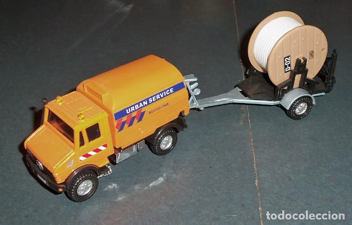Coches a escala: Lote 5 Camiones MERCEDES Obras Públicas - ¡NUEVOS! - Foto 4 - 186377365